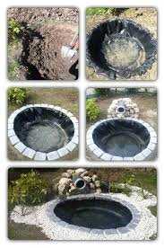 diy patio pond: diy outdoor pond  diy outdoor pond