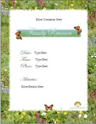 sample of flyer Free Printable Flyer Samples - Download Printable Flyrs Family Reunion Flyer