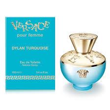 Женская парфюмерия VERSACE DYLAN <b>TURQUOISE</b> – купить в ...