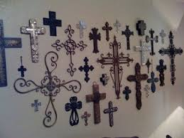 iron wall cross love: i love crosses want to collect crosses from all over to create our home cross wall