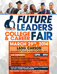st annual future leaders college and career fair atlanta all 1st annual future leaders college and career fair