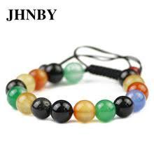 JHNBY красочный красный браслет <b>Сердолик</b> Для женщин ...