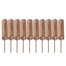 <b>30pcs</b> 433MHZ Spiral <b>Spring</b> Helical <b>Antenna</b> 5mm 34*<b>20mm</b>
