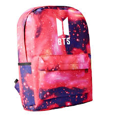 Fashion Kpop ARMY <b>BTS Printing</b> Canvas Bag Student School Bag ...