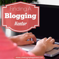 finding a blogging mentor