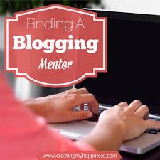 finding a blogging mentor