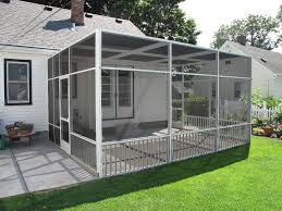 patio roof panels quick quote white screen porch enclosure with flat roofline and remove