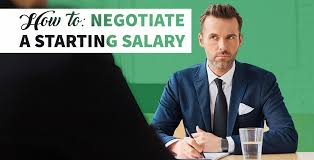 how to negotiate a high starting salary gobankingrates