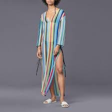 Striped <b>Seaside Holiday</b> Dress <b>Sun Protection</b>   <b>Holiday</b> dresses ...