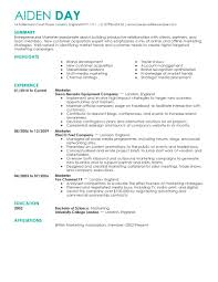 best marketing resumes template best marketing resumes