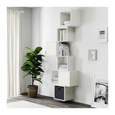 EKET <b>Wall</b>-<b>mounted cabinet</b> combination - white | Ikea eket, Living ...