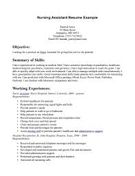 sample resume objective for nursing assistant resume sample resume objective for nursing assistant certified nursing assistant best sample resume resume for nursing assistant