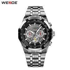 <b>WEIDE</b> Reloj 2018 <b>New</b> Fashion Large Dial Military Quartz <b>Men's</b> ...