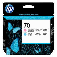 <b>Печатающая головка HP</b> 70 C9405A Light Magenta + Light Cyan ...