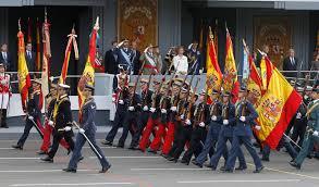 Resultado de imagen de fotos de desfiles militares en España