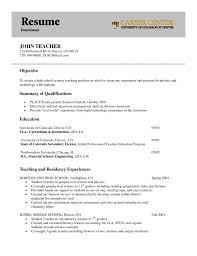 Resume Chronological Format Chronological Resume Template Resume     Brefash
