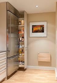 space saving kitchen storage  contemporary kitchen
