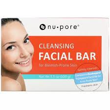 Nu-Pore <b>Cleansing Facial Bar</b> Blemish-Prone Skin