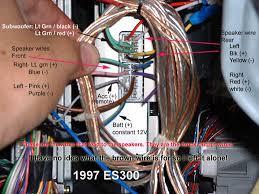 es wiring for factory amp club lexus forums 97 99 es300 wiring for factory amp 97es300 wiring diagram
