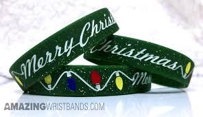 <b>Merry Christmas</b> Wristbands   Inexpensive Custom <b>Silicone</b> Bracelets