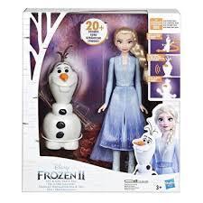 Фигурки Hasbro <b>Frozen 2 Эльза</b> и Олаф E5508 купить по цене 3 ...