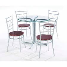 Round Glass Dining Room Table Sets Orient Express Furniture Dining Room Devon Round Glass Dining