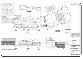 house plans planning application drawings drawing plans based one half storey house extension