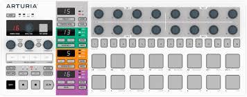 Купить <b>mIDI</b>-<b>контроллер Arturia BeatStep Pro</b> MCI53204 (White) в ...