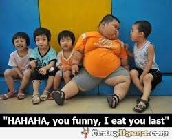 Funny fat Asian kid meme. via Relatably.com