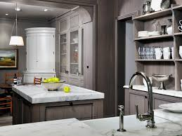 Grey Stained Kitchen Cabinets 1000 Images About Kitchen Yellow Gray On Pinterest Islands