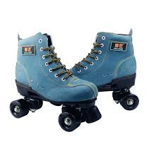 <b>BSTFAMLY</b> Adult Artificial Leather Roller Skates <b>Double Line</b> Skates ...