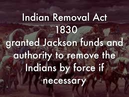 「Indian Removal Act」の画像検索結果