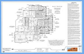What    s in a Good set of House Plans    Randall Southwest Plansframing plan