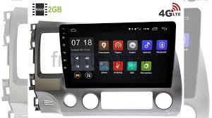 <b>Штатная магнитола</b> на Honda Civic <b>Letrun 2295</b> 4G 2G купить в ...