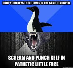 Self-Loathing Pengwolf memes | quickmeme via Relatably.com