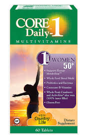 Country Life Core Daily-1 Women 50+ Multivitamin Tablets ... - Kroger
