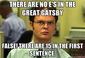 Dwight meets The Great Gatsby? | The Great Gatsby? There's a Meme ... via Relatably.com