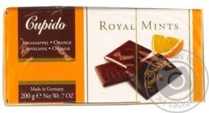 <b>Конфеты Hamlet</b> Cupido шоколадные с апельсиново-мятной ...