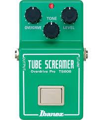 <b>Педаль эффектов Ibanez</b> TS808 <b>Tube</b> Screamer Overdrive для ...