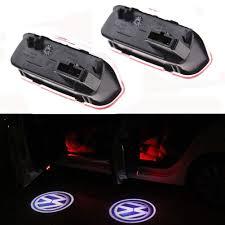 1 Pair For FORTUNER <b>Car LED</b> Door <b>Welcome</b> Light Warning Light ...