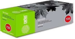 Купить <b>Картридж CACTUS CS</b>-C725S, черный в интернет ...