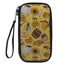 WHEREISART Yellow Travel Passport Protection ... - Amazon.com