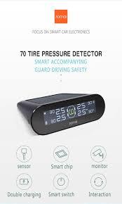 <b>Xiaomi 70mai</b> Smart Car <b>TPMS tire pressure</b> monitoring system ...