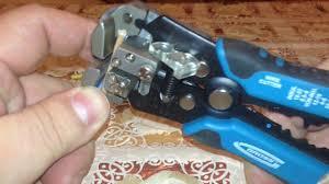 Gross 17718 Стрипперы Клещи для снятия изоляции 0.05 - 8 мм² ...