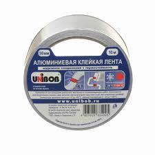 Алюминиевая <b>клейкая лента Unibob</b> 50мм х 10м: купить в Санкт ...