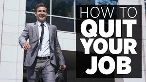 when you should quit your job before having another
