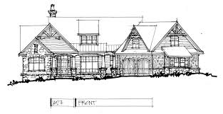 CONCEPTUAL DESIGN     RUSTIC ONE STORY   HousePlansBlog    Conceptual Design     Front elevation