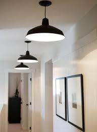 love the clean simplicity warehousebarn pendant lighting and set of thin black framed best hallway lighting