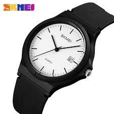 <b>SKMEI</b> 1449 <b>Men's Women's watch</b> Casual Couple Sports PU Strap ...