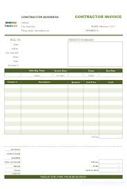 parts and labor invoicing format contractor invoices remittance advice slip